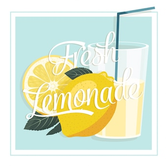 Lemonade illustration