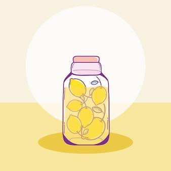 Фрукты лимонов в мазине