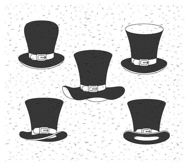 Lemprechaun帽子聖パトリックデー