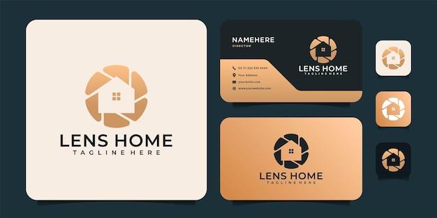Lens home gradient logo