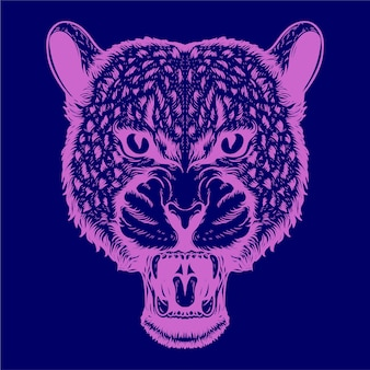 Леопард иллюстрации