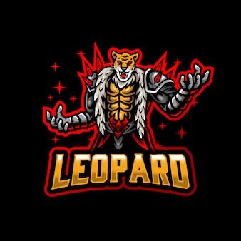 Леопард истребитель талисман логотип