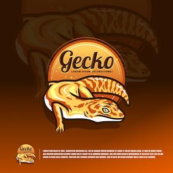 Векторный логотип leopard geсko esports