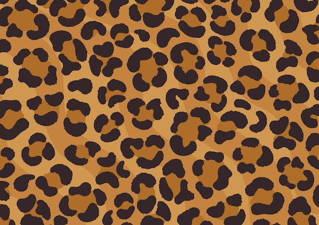 Leopard print design. cheetah skin. animal print.