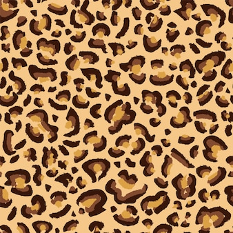 Leopard seamless pattern background