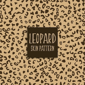 Leopard skin texture print marks
