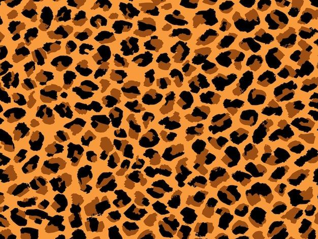 ヒョウの皮の質感