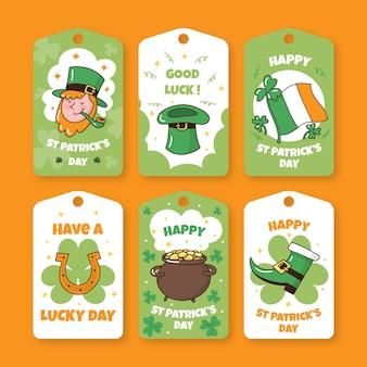 Leprechaun badges for st. patrick's day event