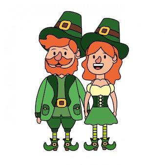 Leprechaun couple avatar