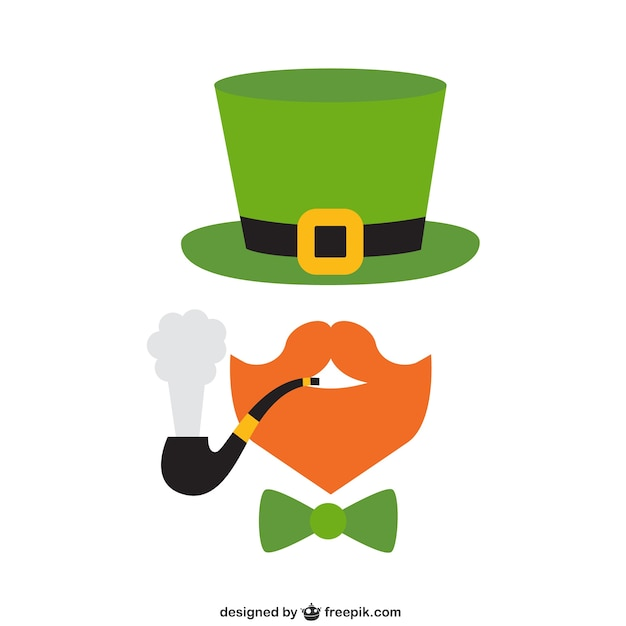 leprechaun vectors photos and psd files free download rh freepik com leprechaun vector logo leprechaun hat vector