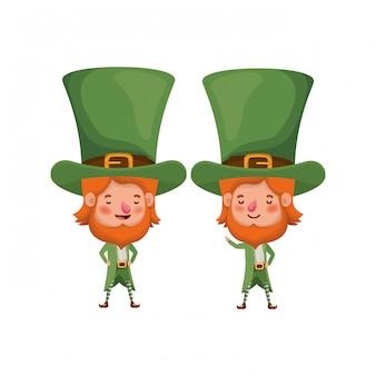 Leprechauns standing avatar character