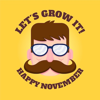 Let it grow happy movember