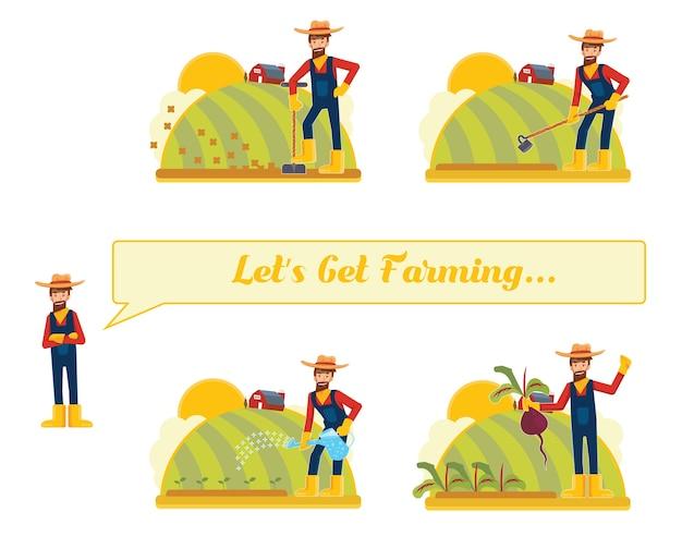 Let´s get farming...