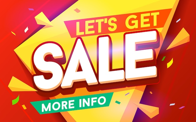 Let's get sale banner. sale and discounts.