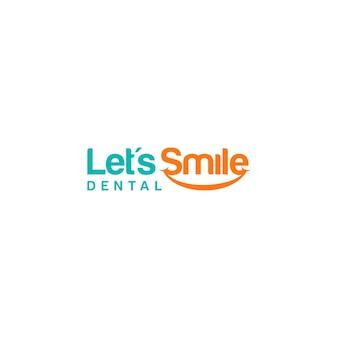 Let's smile logo