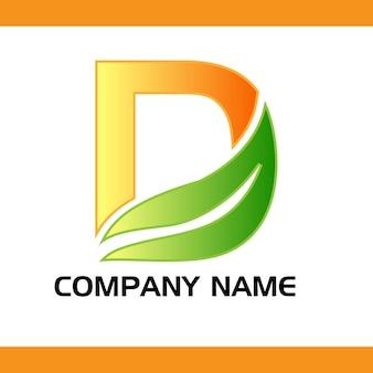 Набор логотипов компании для lette d логотип вектор