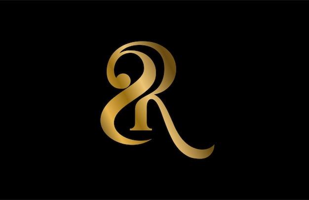 レター2rまたはrsリンクロゴ