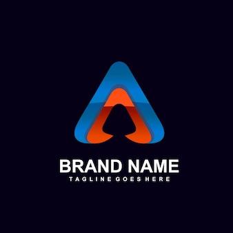 편지 추상적인 로고 디자인