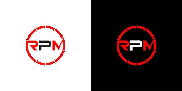 線形アウトラインスタイルでロゴデザイン企業のビジネス技術を文字