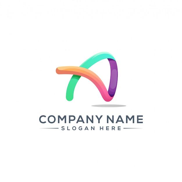 会社のロゴaロゴデザイン