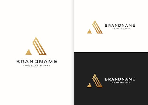 Письмо шаблон дизайна логотипа. векторные иллюстрации