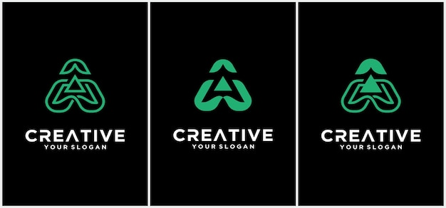 Письмо шаблон логотипа. абстрактный значок. творческое письмо логотип вектор дизайн шаблона. дружелюбный милый шрифт.
