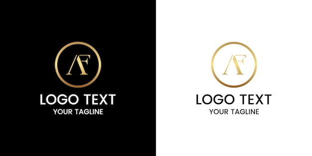 Буква f дизайн логотипа вектор