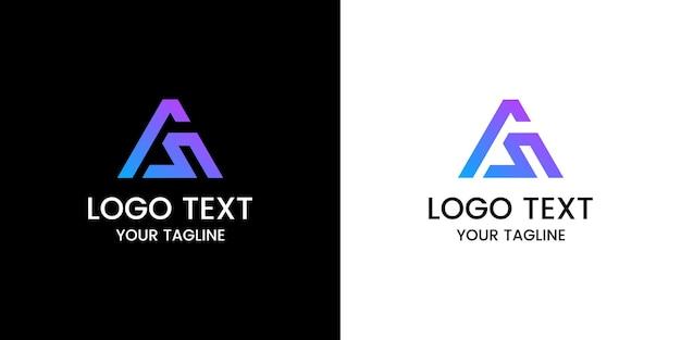 Письмо как дизайн логотипа