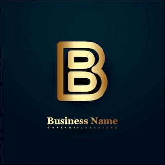 Letter b design