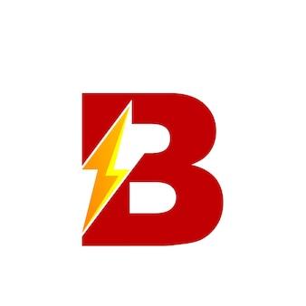 Letter b energy logo