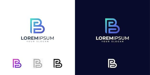 Letter b logo design inspiration
