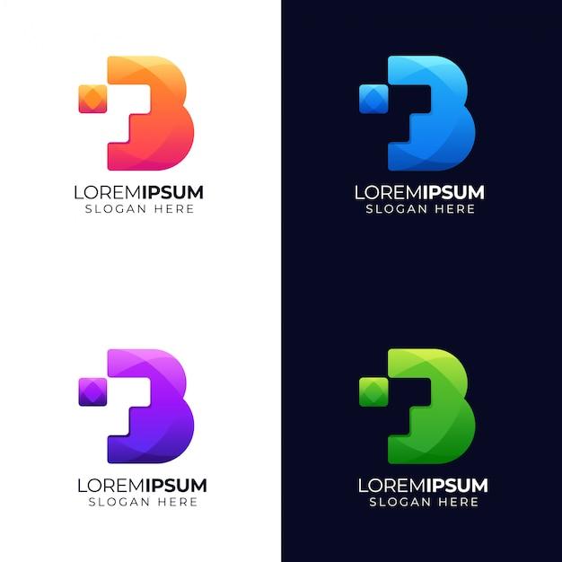 文字bのロゴ
