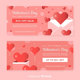 Letter and box valentine sale