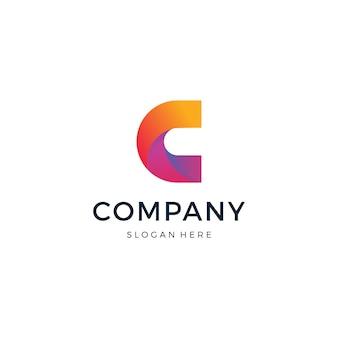 Буква c дизайн логотипа