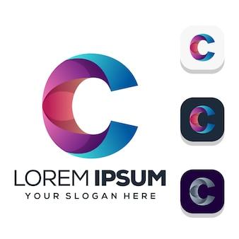 Letter c logo design