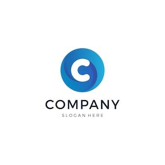 Буква c логотип