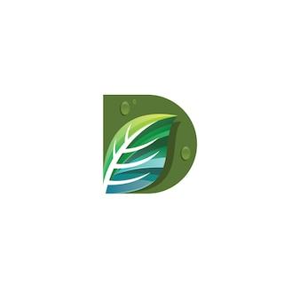 Letter d logotype
