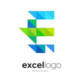 Letter e logo design