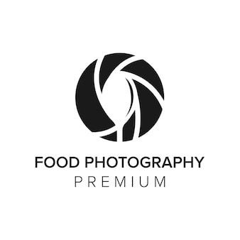 Буква f фотография логотип значок вектор шаблон