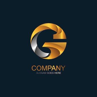 文字gのロゴデザイン