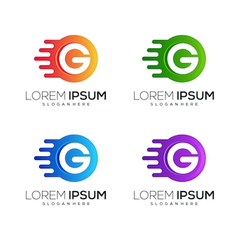 Letter g logo icon business