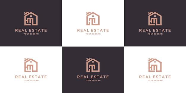 不動産デザインの手紙hm家のロゴ