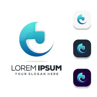 Letter j logo design