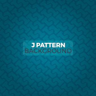 Letter J Pattern Background Editable