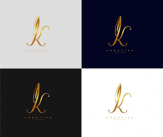 Set Of Abstract Initial Letter D Logo Template Icons For Business Of Luxury Elegant Simple: Premium Vector