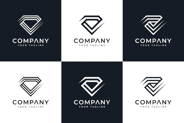 Letter kd creative logo design and business card template premium vector