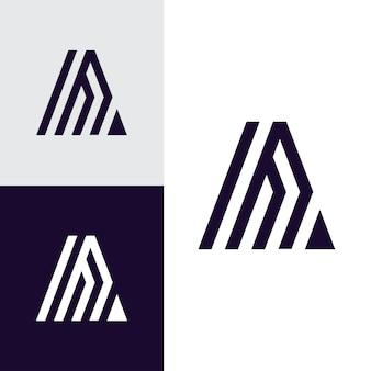 A letter logo icon  identity business symbol