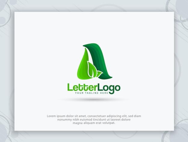 A letter logo and a monogram design