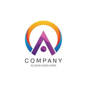 Letter a logo in