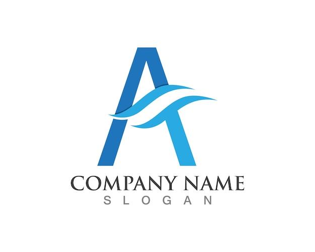 Letter a logos